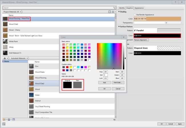 Change Pattern Color